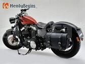 【送料無料】DAYTONA(デイトナ) HBアメリカンサドルバッグ【9L】(マフラー側対応)ブラック【93327】Henly Begins ヘンリービギンズ