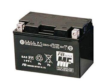 パシフィックコースト/RC34 古河バッテリー [ 古河電池 ] シールド型 バイク用バッテリー [ 液入充電済 ] FTZ12S
