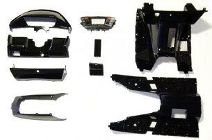 【FUSION[フュージョン]】MF02インナーカウルセットメーターカバー付ブラック/黒塗装済