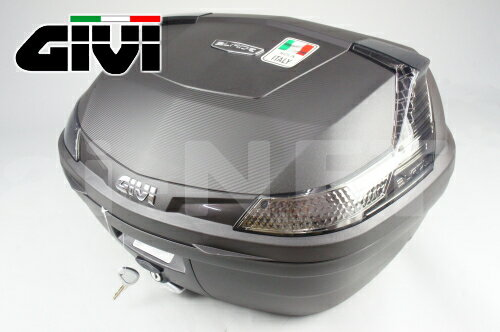 GIVIジビリアボックスバイク用ボックスモノロックケースB47NTMLDTECH未塗装ブラック黒76885あす楽対応