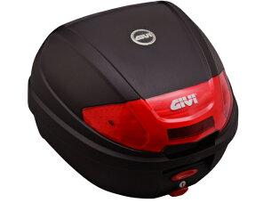 【送料無料】【GIVI[ジビ]】リアボックスバイク用ボックスモノロックケースE300N2未塗装ブラック(黒)【76872】