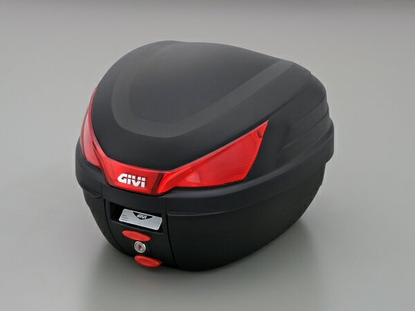 GIVI ジビ  リアボックスバイク用ボックスモノロックケースモノロックケースB27N未塗装ブラック(黒)27Lストップランプ