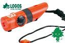 LOGOS/ロゴス LLL 7機能サバイバルホイッスル 82100100 防災グッズ ライフライン ...