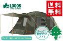 【送料無料】LOGOS/ロゴス neos プレーリー2ルーム・PLR L-AG【71805024】【ドーム型テント】【設営簡単 ファミリーキャンプ】【リビング付き ツールームテント】【4人用】