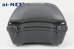 【リアボックス】【トップケース】【28L】【スーパーカブ】リアボックスアタッチメント付汎用品ブラック黒