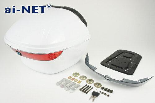 3ヶ月保証付  リアボックス  トップケース  28L  SRV250  SRV400 リアボックスアタッチメント付汎用品シャ