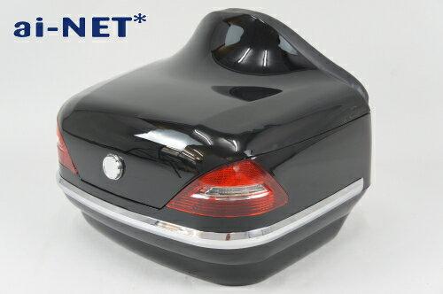 1ヶ月保証付  リアボックス  トップケース  ベンツ風  SRV250  SRV400 リアボックスアタッチメント付汎用品ブ