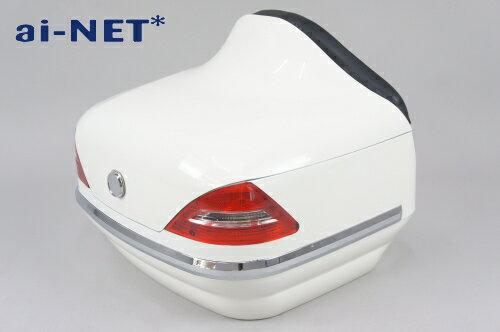 1ヶ月保証付  リアボックス  トップケース  ベンツ風  SRV250  SRV400 リアボックスアタッチメント付汎用品ホ