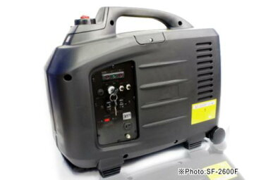 高性能インバーター発電機SF-2600Fエコスロットル