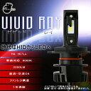 H4 LEDヘッドライト【送料無料】ワールドウォーク製 H4 Hi/Lo 車検対応 6000K バイク用 コンパクト設計 LEDヘッドライトバルブ VIVID RAY【leh-1】LEDバルブ カスタム【あす楽】