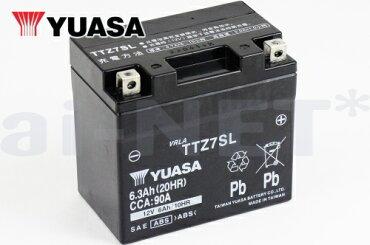 TTZ7SLバッテリー【YUASA】ユアサバッテリー【YTZ7S】【FTZ7S】【GTZ7S】【7S】【互換】【バッテリー】
