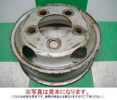 【中古】鉄トラックホイール日野デュトロトヨタダイナ15インチ1本〜2tクラスなどに♪♪※鉄チン鉄ちんテッチンてっちん