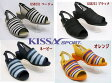 ♪NEWカラー/KISSA SPORT/待望の日本製モデルです。★キサスポーツ/8231 /定番のアレンジサンダル