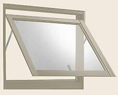 商品リンク写真画像:横すべり出し窓 06005の例 (あかりとり窓さんからの出展) ※横滑り出し窓の形状解説用写真1