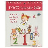『2020年』cocoちゃん2020年1月始まりココちゃん卓上カレンダー