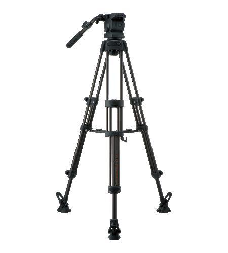 Libec/リーベック ビデオカメラ三脚[RS-250DM]ミッドスプレッダータイプ