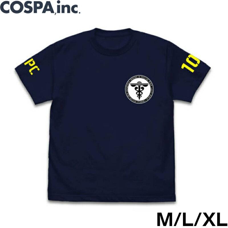 PSYCHO-PASS サイコパス3 公式 グッズ 服 ノイタミナ 公安局 蓄光Tシャツ M L XL サイズ ネイビー COSPA画像
