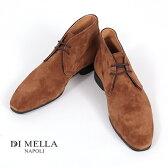 【DI MELLA ディメッラ】1069 スエード チャッカブーツ CACAO ブラウン DI MELLA/ディメッラ/SUEDE11/イタリア靴 P08Apr16