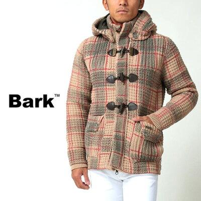 bark (バーク) ニットダッフルコート