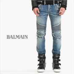 BALMAIN バルマン バイカーデニム デトロイトデニム 2015-16秋冬新作BALMAIN バルマン バイカー...