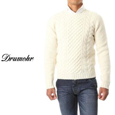 DRUMOHR(ドルモア) ニット ケーブル編み クルーネック