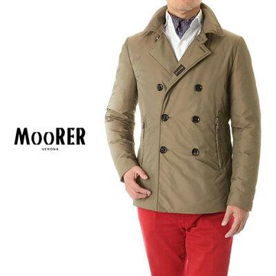 MOORER(ムーレー)2Way Pコート ダウンジャケット
