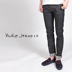 Nudie Jeans ヌーディージーンズ シンフィン ドライデニム スキニージーンズ 日本正規販売店【...