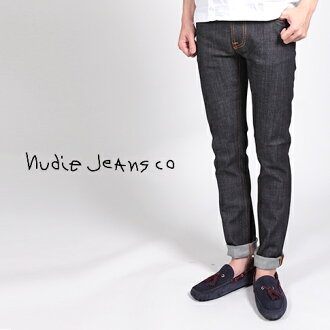 Nudie jeans Nudie Jeans THIN FINN sing fine dry denim skinny ORG. DRY TWILL 11.5 oz 42161-1005-934 P08Apr16