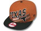 NEW ERA TEXAS LONGHORNS 【2T STILL ANGLIN SNAPBACK/B ORG-BLK】ニューエラ テキサス ロングホーンズ 9FIFTY スナップバック [帽子 ヘッドギア CAP キャップ KEVIN DURANT ケビン デュラント出身校 大きい サイズ メンズ レディース 大学 カレッジ 15_3_2SNA_15_3_3]
