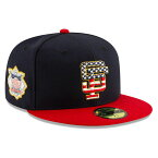 【独立記念日モデル】ニューエラ 59FIFTY サンフランシスコ ジャイアンツ 【MLB 2019 JULY 4TH STARS N STRIPES 59FIFTY FITTED/NAVY-RED】 NEW ERA SAN FRANCISCO GIANTS [BIG_SIZE 19_6_3NE 19_6_4]