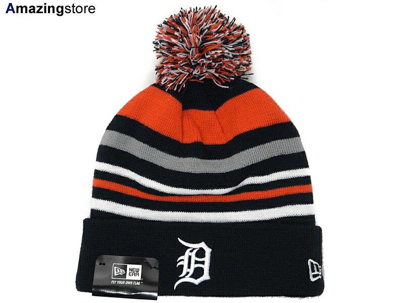メンズ帽子, キャップ NEW ERA DETROIT TIGERSSTRIPEOUT KNIT BEANIENAVY-ORG-WHT-GREY new era cap new era newera JORDAN LA NY BK SUPREME