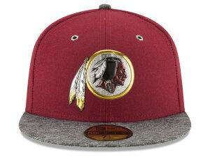 NEW ERA WASHINGTON REDSKINS 【2016 NFL DRAFT/BUR-DARK HEATHER GREY】 ニューエラ ワシントン レッドスキンズ ドラフト 59FIFTY フィッテッド キャップ FITTED CAP AUTHENTIC [帽子 ヘッドギア メンズ 16_4_2DRF16_4_3]