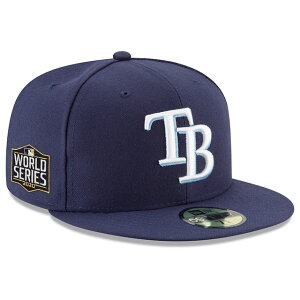 【代引不可】ニューエラ 59FIFTY タンパベイ レイズ【2020 WORLD SERIES GAME SIDE PATCH CAP】TAMPA BAY RAYS 20_10_MLB AMERICAN LEAGUE CHAMPIONSHIP ワールドシリーズ