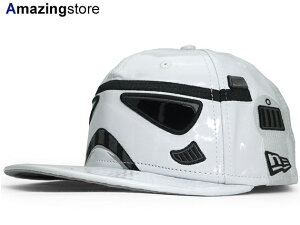 NEW ERA STAR WARS STORM TROOPER 【CHARACTER FACE/WHT】 ニューエラ スターウォーズ ストーム トルーパー 59FIFTY フィッテッド キャップ FITTED CAP [帽子 ヘッドギア HI-RES プリント 15_10_4 15_10_5]