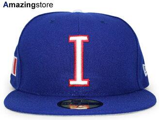 NEW ERA WORLD BASEBALL CLASSIC new gills Italy on field 59FIFTY フィッテッドキャップ FITTED CAP WBC blue blue [hat BIG_SIZE 17_2_5WBC 17_3_1]