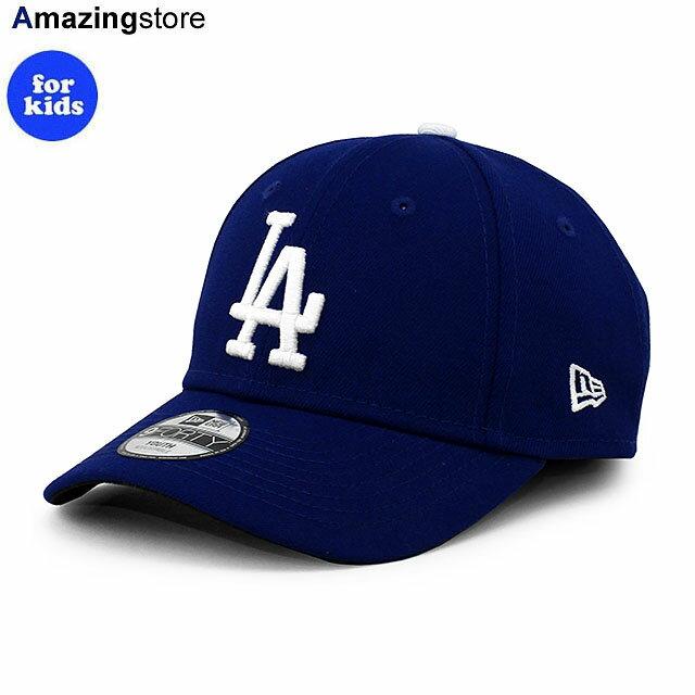 【子供用 あす楽】【子供用】ニューエラ 9FORTY ロサンゼルス ドジャース 【YOUTH MLB THE LEAGUE GAME ADJUSTABLE CAP/RYL BLUE】 NEW ERA LOS ANGELES DODGERS ブルー [21_3_1NE]画像