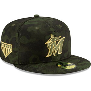 ニューエラ 59FIFTY マイアミ マーリンズ 【MLB 2019 ARMED FORCES STARS N STRIPES ON-FIELD/CAMO】 NEW ERA MIAMI MARLINS [19_5_4ARM 19_5_5]