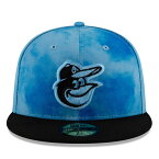 【父の日モデル】ニューエラ 59FIFTY ボルチモア オリオールズ 【MLB 2019 FATHERS DAY ON-FIELD/BLUE-BLK】 NEW ERA BALTIMORE ORIOLES [19_5_5NE 19_6_1]