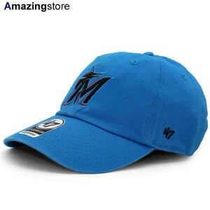 47ブランド マイアミ マーリンズ 【MLB CLEAN UP STRAPBACK/BLUE】 47BRAND MIAMI MARLINS [19_5_5FTS 19_6_1]