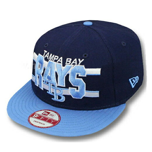 メンズ帽子, キャップ  9FIFTYWORDSTRIPE SNAPBACK CAPNAVY-SKY NEW ERA TAMPA BAY RAYS BLUE 2012NE2013