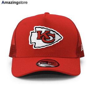 【あす楽対応】ニューエラ 9FORTY メッシュキャップ メンズ レディース カンザスシティ チーフス 【NFL D-FRAME TRUCKER MESH CAP/RED】 NEW ERA KANSAS CITY CHIEFS レッド [20_3_2MESH]