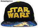 NEW ERA STAR WARS EPISODE 4 【A NEW HOPE VIZA-PRINT SNAPBACK/BLK】 ニューエラ スターウォーズ エピソード4 新たなる希望 スナップバック 9FIFTY [帽子 ヘッドギア HI-RES プリント 16_3_3SNA 16_3RE]