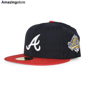 ニューエラ 59FIFTY アトランタ ブレーブス 【MLB 1996 WORLD SERIES HOME FITTED CAP/NAVY-RED】 NEW ERA ATLANTA BRAVES [19_12_3NE 19_12_4]