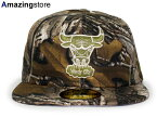 NEW ERA CHICAGO BULLS 【NBA TEAM-BASIC/REALTREE CAMO】 ニューエラ シカゴ ブルズ 59FIFTY FITTED CAP フィッテッド キャップ [帽子 迷彩 camouflage リアルツリー 16_8_1]