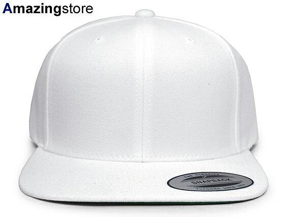 メンズ帽子, キャップ 12YUPOONG FLEXFIT PREMIUM CLASSIC BLANK SNAPBACKWHT BASIC PLAIN WHITE for3000 186RE