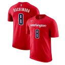 八村 塁選手モデル ナイキ Tシャツ ワシントン ウィザーズ 【NBA DRI-FIT NAME&NUMBER T-SHIRT/RED】 NIKE WASHINGTON WIZARDS RUI HACHIMURA [19_11RE]