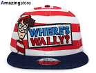 NEWERAWHERE'SWALLY?【LOGOSNAPBACK/BORDER-DENIM】