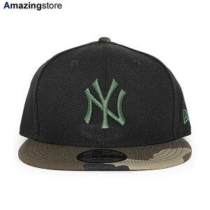 ニューエラ ニューヨーク ヤンキース 9FIFTY スナップバック キャップ 【MLB TEAM-BASIC SNAPBACK CAP/BLACK-WOODLAND CAMO】 NEW ERA NEW YORK YANKEES ブラック カモ [20_1_3NE 20_1_4]