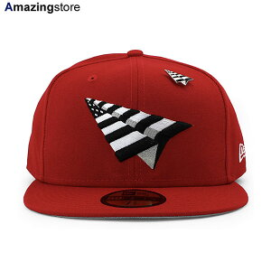 【30%OFF】【あす楽対応】ニューエラ ロックネイション 59FIFTY 【PAPER PLANES THE ORIGINAL CROWN FITTED CAP/RED】 NEW ERA ROC NATION [20_1_5ROC 20_2_2]