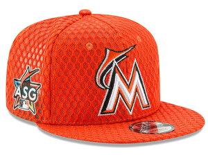NEW ERA MIAMI MARLINS 【2017 MLB ALL STAR HOME RUN DERBY SNAPBACK/ORG】 ニューエラ マイアミ マーリンズ 9FIFTY スナップバック ホームランダービー MLB オールスター ORANGE オレンジ [帽子 メンズ レディース 2017HRD 17_7_3]